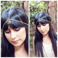 Egyptian eye Head Chain. Simple Headchain