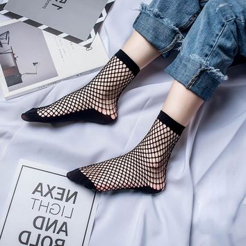 Nylon Mesh Socks