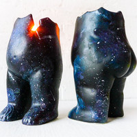 Astro Tushiez Candle Handpainted Figurine