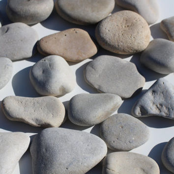 Extra Large Sea Stones Beach Wedding Guest Book Large Beach Stones Wishing Stones