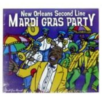Mardi Gras Party CD