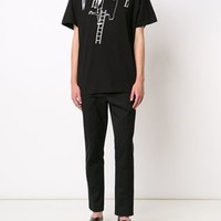 Off-white Girl Painting Print T-shirt - Mantovani - Farfetch.com
