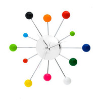 Mixed Spider Wall Clock