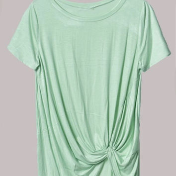 Seafoam Get Knotty T Shirt