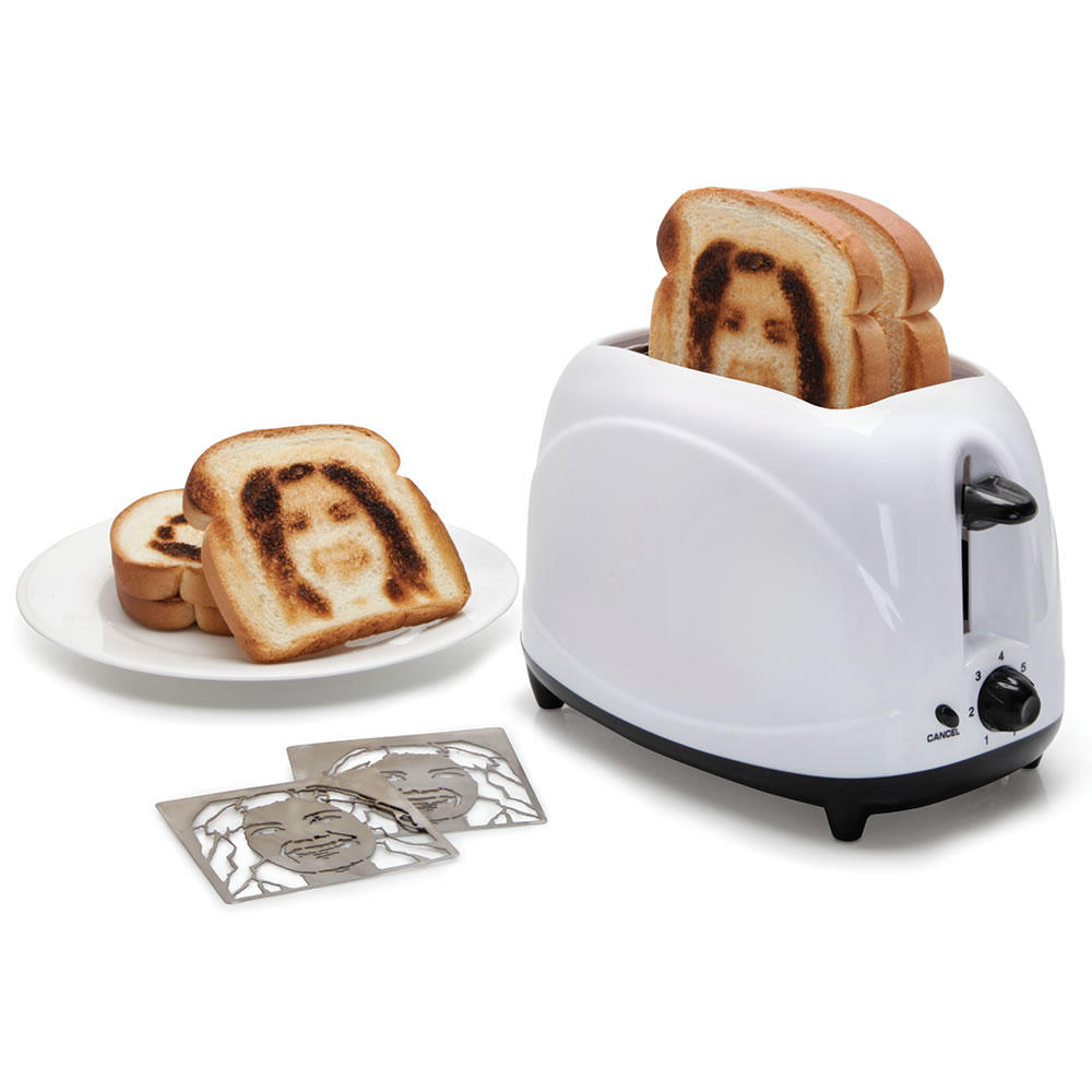 The Selfie Toaster From Hammacher Schlemmer