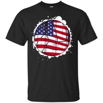 Volleyball Player & Coach American USA Flag Sport
