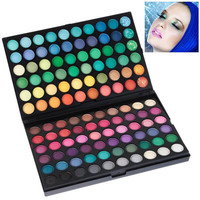 NO.01 120 Colored Multifunction Rectangle Box Make-up Palette