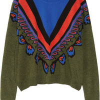 Stella McCartney | Intarsia wool sweater | NET-A-PORTER.COM