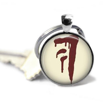 Supernatural Mark of Cain Keychain