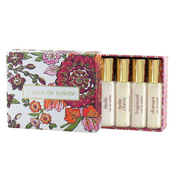 Fragonard, 5 Eaux de Toilette Gift Set, (5x5ml, 5x0.17 fl oz)