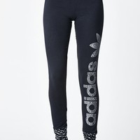 adidas Helsinki Logo Leggings - Womens Pants - Black