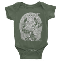 Ganesh, Baby Onesuit 4-Colors