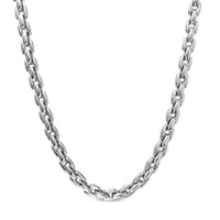 Geotic Men's Stainless Steel Chain Necklace