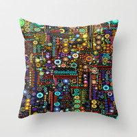 :: Chi-Town :: Throw Pillow by GaleStorm Artworks