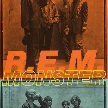 R.E.M. Monster 1994 Band Poster 22x34