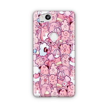 Cuddly Pink Pokemon Google Pixel 3 XL Case | Casefantasy