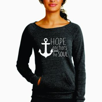 Hope Anchors the Soul Sweater