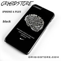 Nike Brain Quote For Iphone 6 Plus Case UY