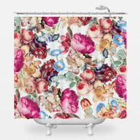 Floral Crush Shower Curtain