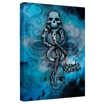 Harry Potter - Death Eater Canvas Wall Art With Back Board