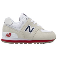New Balance 574 Classic - Boys' Toddler - Casual - Shoes - New Balance - Boys' Toddler - Casual Running Sneakers - Nimbus Cloud/Navy | Core+ | Kids Foot Locker