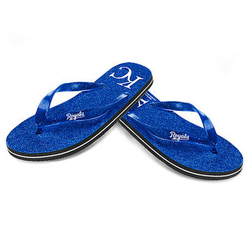 Kansas City Royals Women's Glitter Thong Sandal - MLB.com Shop