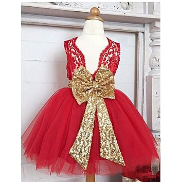 New Girls Dress Minnie Lace Sequins Dress Kids Clothing Party Fancy Costume Cosplay Baby Tutu Dresses Elsa Costume Girl Vestido