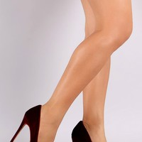 Shoe Republic LA Velvet Pointy Toe Pump (wine) by AFTERLIFE CLOTHING