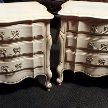 Vintage French Provincial Nightstands