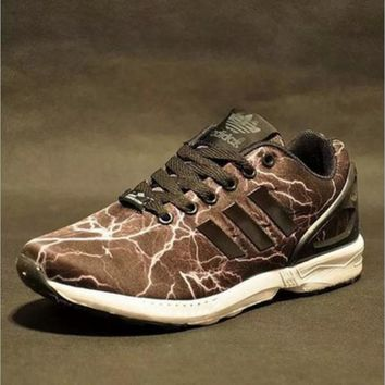 ADIDAS Men and women type air running shoes casual shoes non-skid rainbow lovers sneak