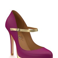 Women's Shoes of Prey Mary Jane Platform Pump,