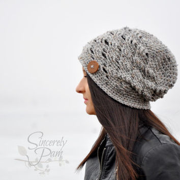 Ally Hat Pattern Collection (Cap, Slouch, Beanie) Crochet Pattern PDF