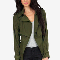 Living Light Trenchcoat $66
