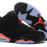 "AIR JORDAN 6 (BLACK - OVO - DRAKE) ""Black Infrared"""