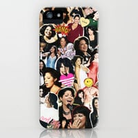 Greys Anatomy: Sara Ramirez iPhone & iPod Case by drmedusagrey