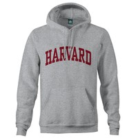 Harvard University Classic Hooded Sweatshirt (Grey)