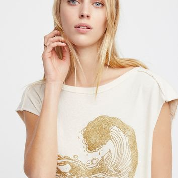 Free People We The Free Graphic Barbary Muscle Tee