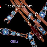 Crown Leather Glitz Set - The Tack Stop