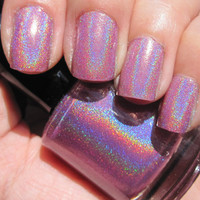 ORCHID FUSION  Full Size Handmade Purple by SillyLilyPolish