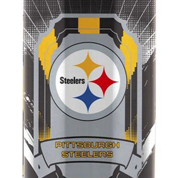 Pittsburgh Steelers Stainless Steel Thermo Can - 16.9 ounces