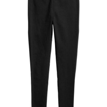 Cigarette trousers - Black - Ladies | H&M GB
