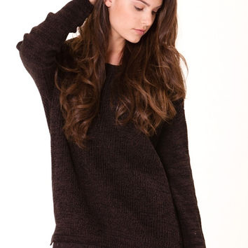 Rylee Lace Trim Sweater
