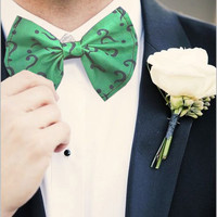 Riddle Me Question Mark Bow Tie bowtie