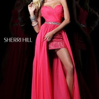 Sherri Hill 1570 at Prom Dress Shop