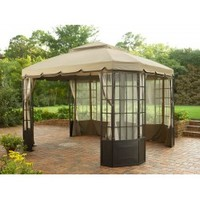 Sunjoy Sears&Kmart Bay Window Gazebo Replacement Netting