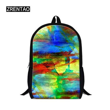 Cool Backpack school ZRENTAO Dollar Buck Bill Pattern Printed Cool Party Instagram Hot School Backpack Teenager Traveling Picnic Bag Laptop Backpack AT_52_3