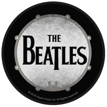 The Beatles Classic Vintage Drum Embroidered Iron on Patch