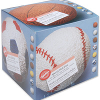 """novelty cake pans-sports ball 6"""" (2 pieces)"""
