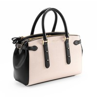 Brook Street Bag in Monochrome Saffiano