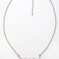 Crosscheck Necklace - One